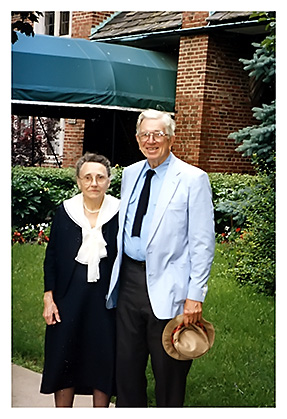 Bill and Mary Duren, University of Chicago's Quadrangle Club, 1990